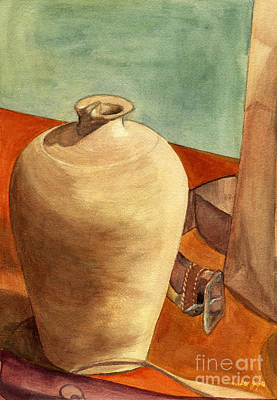 Painting - Vase Still by Mukta Gupta