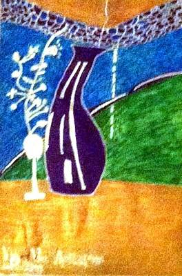 Vase Vine And The Highway Original