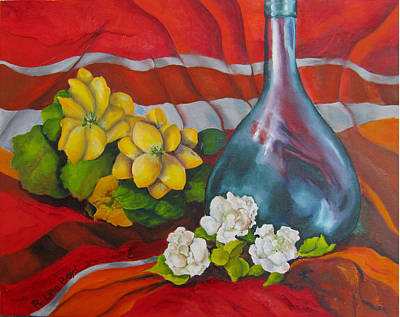 Painting - Vase With Flowers by Lisa Boyd