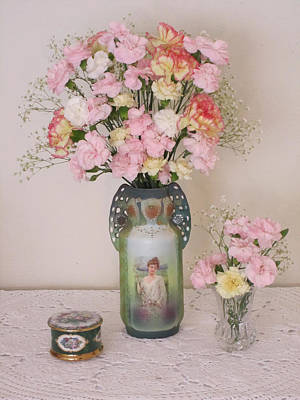 Photograph - Vases Pink Cast And Trinket Box by Good Taste Art