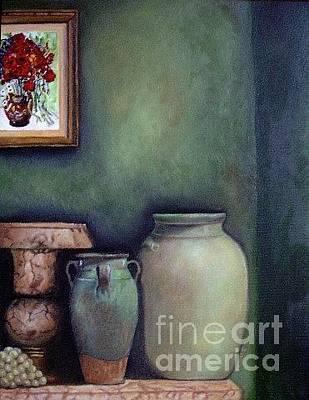Painting - Vases by Venus