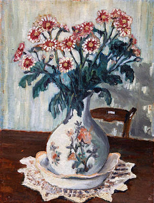 Painting - Vaso Con Fiori by Niki Mastromonaco
