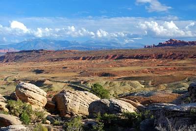 Photograph - Vast Desert Landscape by Cascade Colors