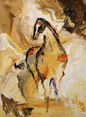Equine Painting - Vast Horse 7 Of 100 2014 by Laurie Pace