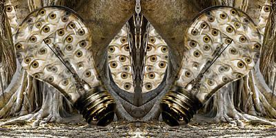 Stare Digital Art - Vast Knowledge I by Betsy Knapp