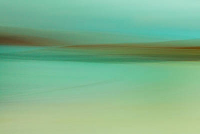 Abstract Beach Landscape Digital Art - Vatersay I by Kevin Marston