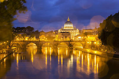 Rainy Day Photograph - Vatican by Mircea Costina Photography