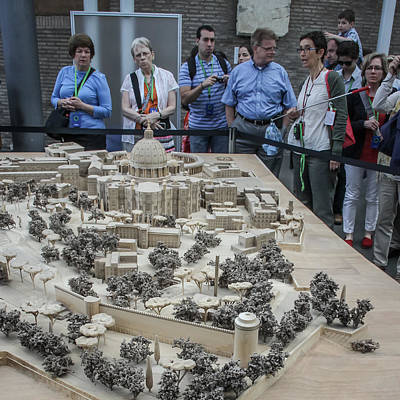 Photograph - Vatican Model In Museum - June 4 by Dwight Theall