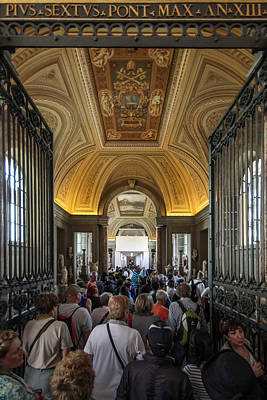Photograph - Vatican Museums - June 4 by Dwight Theall