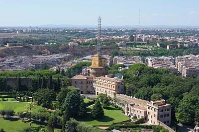 Vatican Photograph - Vatican Radio. by Mark Williamson