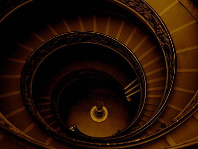 Wall Art - Photograph - Vatican Spiral by Michael Jewel Haley