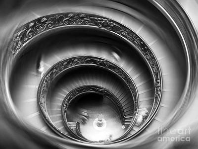 Photograph - Vatican Stairs by Sandro Rossi