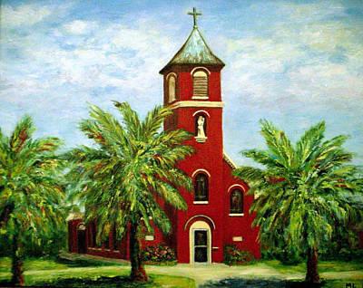 Loyola Painting - Vattman Church by Mary Phillip