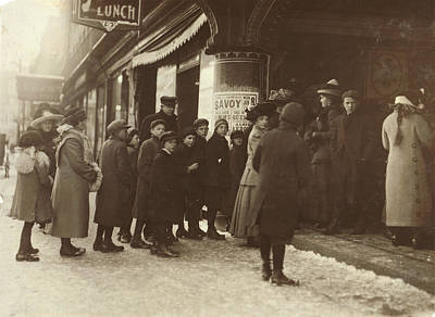 Vaudeville Audience, 1912 Art Print by Granger