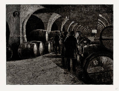 Vaults At The Docks, Isles Of Dogs, London Art Print