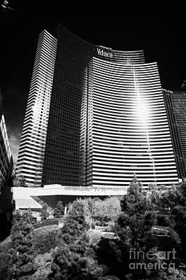 vdara condo hotel and spa Las Vegas Nevada USA Art Print
