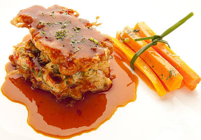 Photograph - Veal by New  Orleans Food