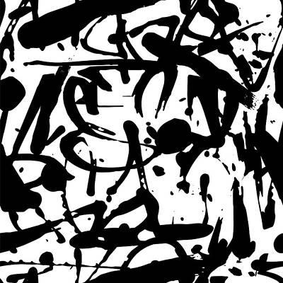 Digital Art - Vector Graffiti Seamless Pattern With by Vanzyst