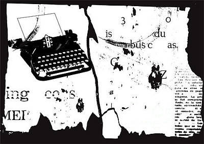 Live Wall Art - Digital Art - Vector Grunge Background by Ozger Sarikaya