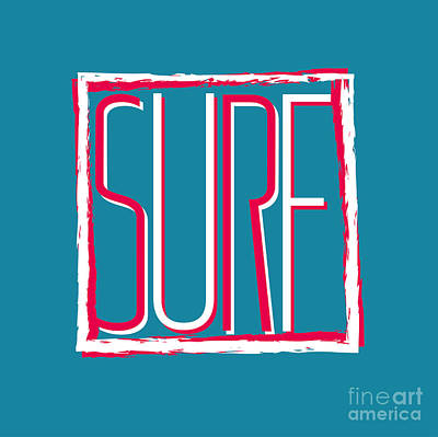 Waves Digital Art - Vector Illustration Californian Surf by Artem Kovalenco