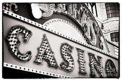 Vegas Casino Art Print