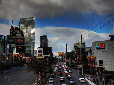 Photograph - Vegas Strip 002  by Lance Vaughn