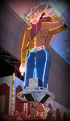 Photograph - Vegas Vic by Kay Novy