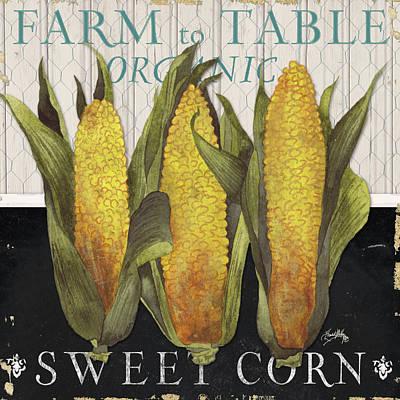 Fresh Digital Art - Vegetable Farm Fresh I by Elizabeth Medley