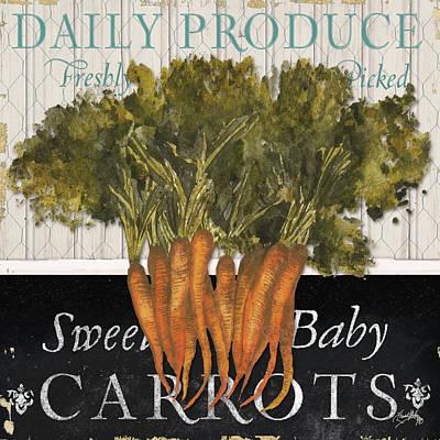 Fresh Digital Art - Vegetable Farm Fresh II by Elizabeth Medley