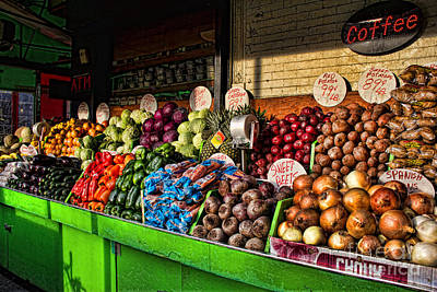 Photograph - Greenwich Village Market by Betsy Foster Breen