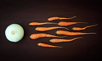 Carrot Photograph - Vegetable Reproduction by Nermin Smaji?