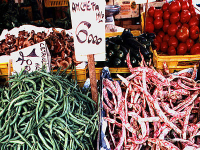 Photograph - Vegetable Stand In Venice Italy by Merton Allen