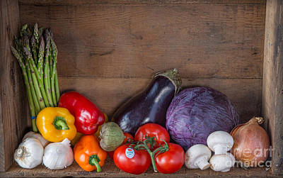 Photograph - Vegetables  by Alana Ranney