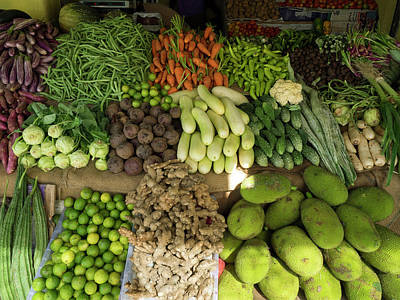 Southern Province Photograph - Vegetables For Sale On Main Street by Panoramic Images