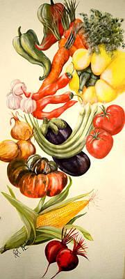 Vegetables No. 1 Art Print