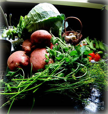 Daisies Photograph - Vegetables. Still Life by Tanya  Searcy