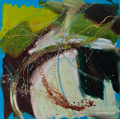 Painting - Veggie Starlight by Paulette B Wright
