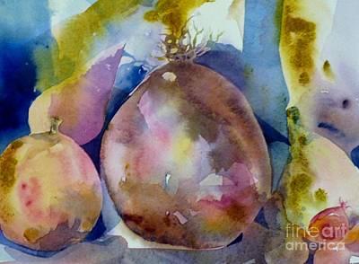 Painting - Veggie Still Life by Donna Acheson-Juillet