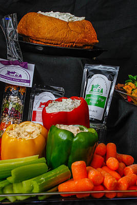 Photograph - Veggies And Dips by Robert Hebert
