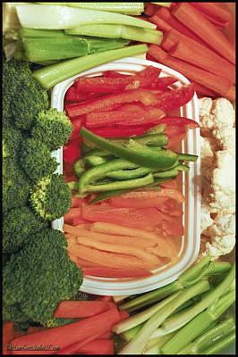 Celery Photograph - Veggies by LeeAnn McLaneGoetz McLaneGoetzStudioLLCcom