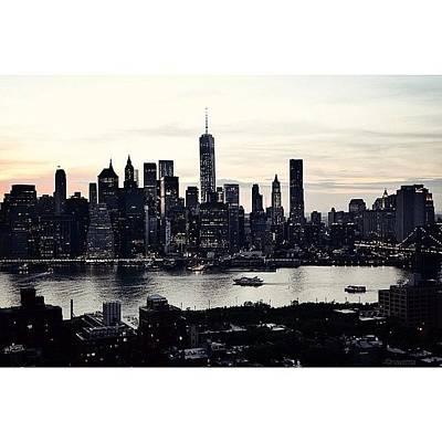 Architectureporn Photograph - vehement Silhouettes Of Manhattan - by Natasha Marco
