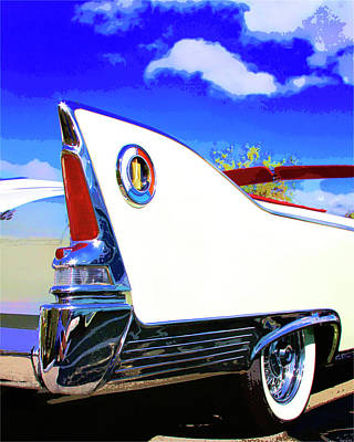 Vehicle Launch Palm Springs Art Print by William Dey