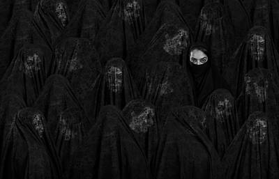Hidden Face Photograph - Veil by