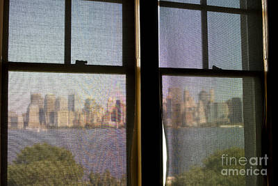 Photograph - Veiled View On Manhattan  by Patricia Hofmeester