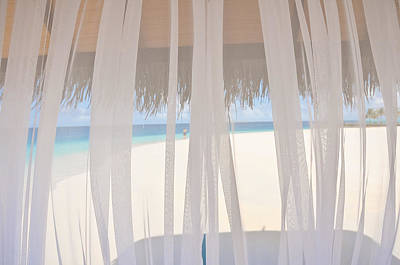Veiled World. Maldives Print by Jenny Rainbow
