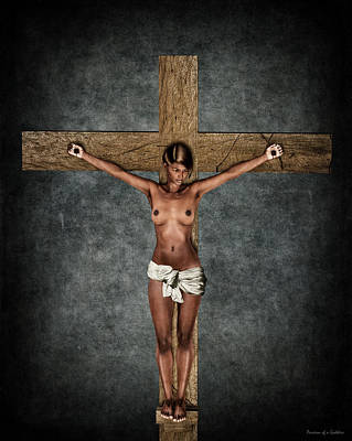 Crucifixion Wall Art - Digital Art - Velazquez Crucifix by Ramon Martinez