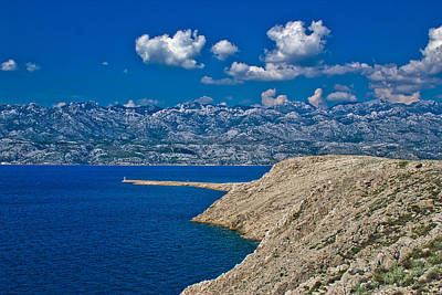 Photograph - Velebit Mountain And Stone Desert by Brch Photography