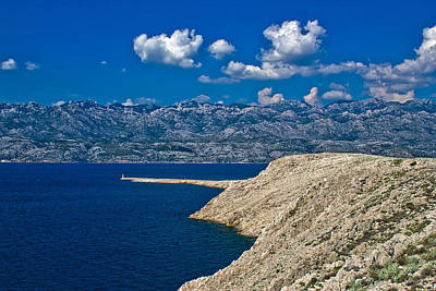 Photograph - Velebit Mountain From Island Of Pag by Brch Photography