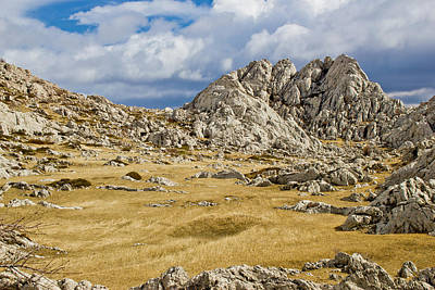 Photograph - Velebit Mountain Landscape Near Tulove Grede by Brch Photography