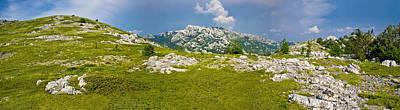 Photograph - Velebit Mountain National Park Panorama by Brch Photography